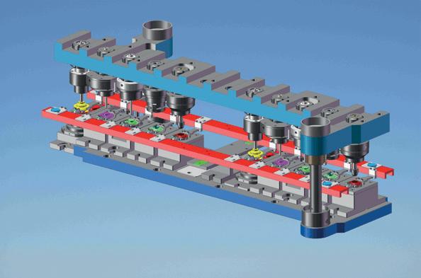Transfer Press Die - Model 2